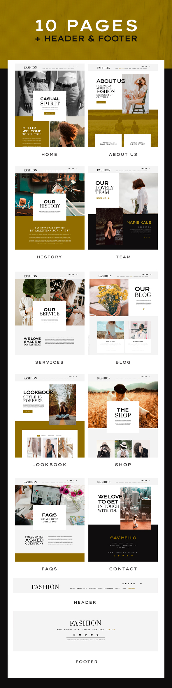 Fashion Feel | Elementor Template Kit - WordPress